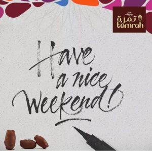 tamrah-weekend